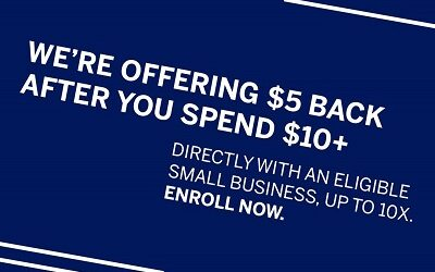 American Express Gives Back $5 x 10